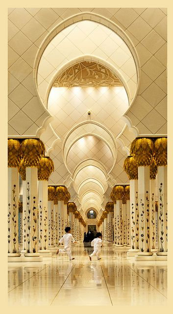 such a beautiful hallway - Riyadh