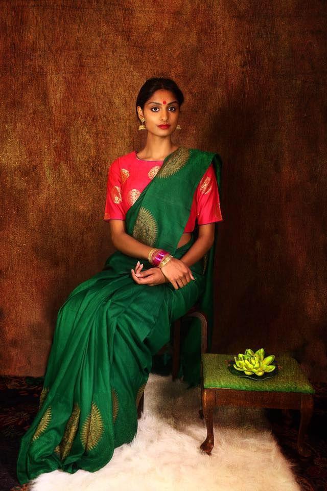 Tussar banarasi from Pure Elegance: Pinned by Sujayita
