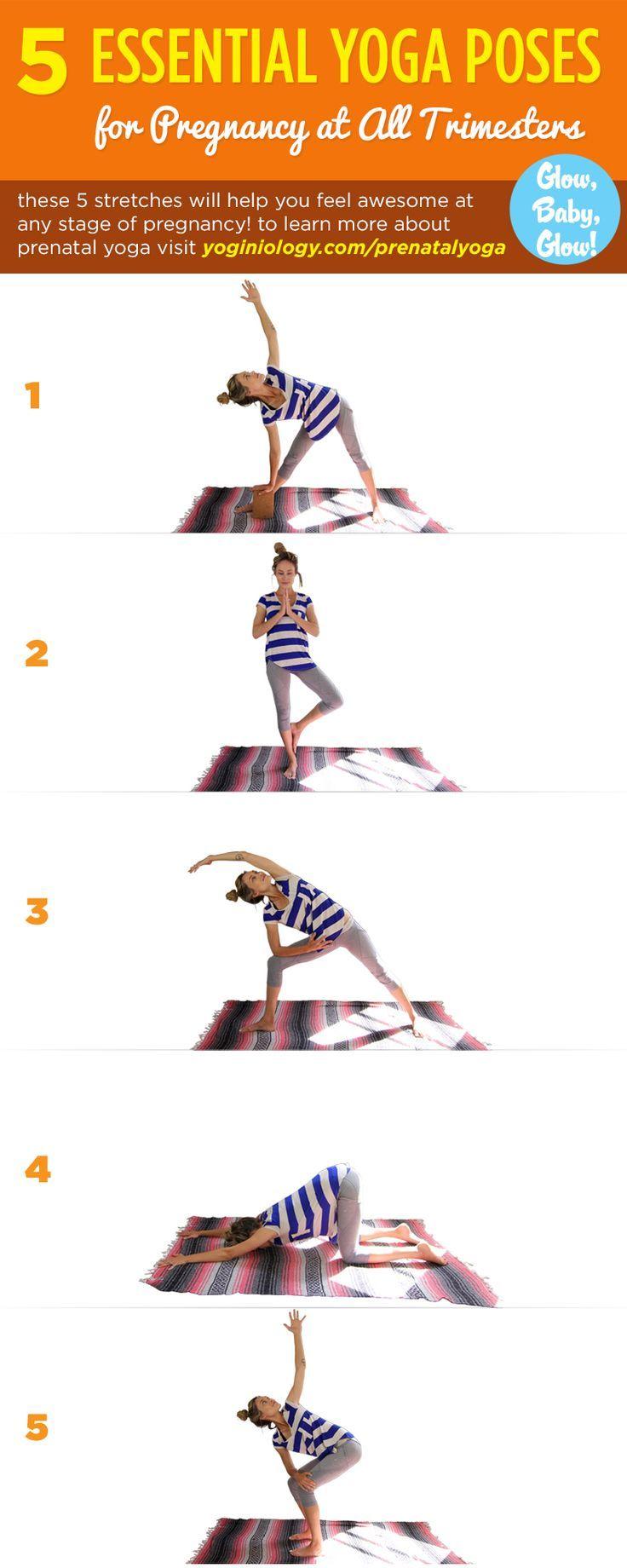 Pin by yoginiology on • HEALTH • FITNESS • | Prenatal yoga ...