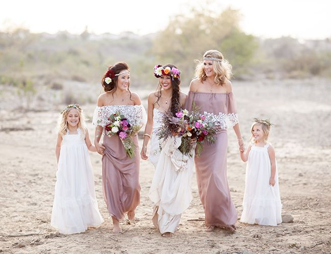 Rustic Bohemian Wedding Inspiration - Inspired by This Wedding Blog