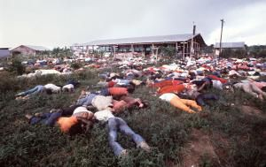 Mass Suicide at Jonestown - (Photo by Tim Chapman / Getty Images)