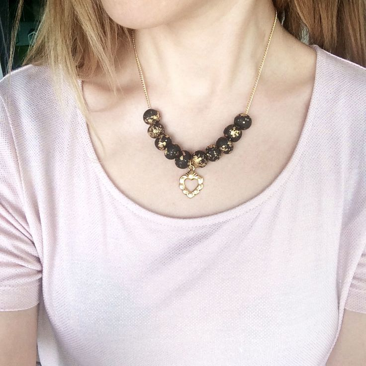 Image of Golden Heart Necklace