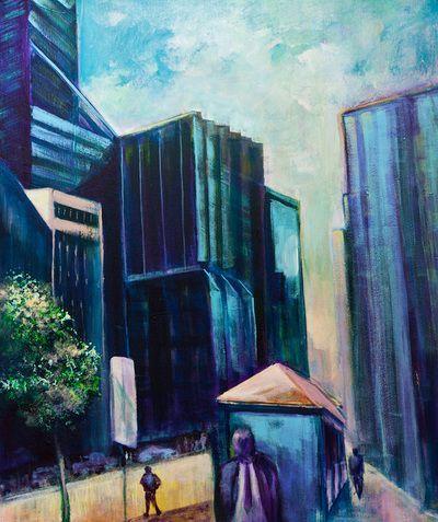 Cityscapes - Roger Reading Art