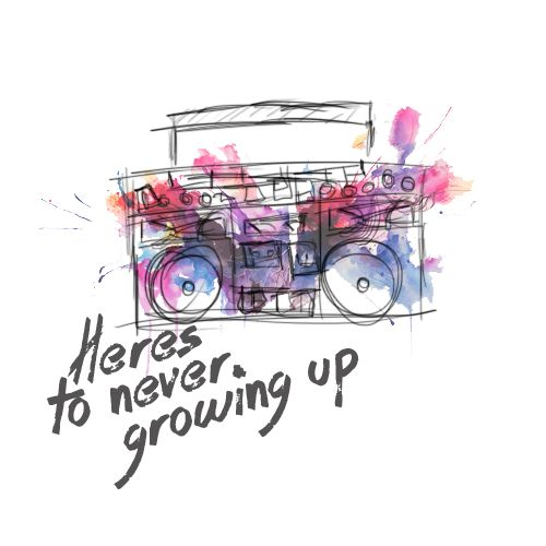 Heres to never growing up -Avril Lavigne
