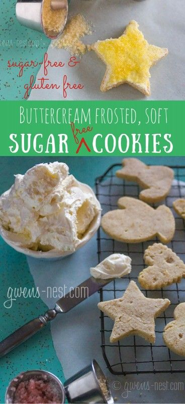 Christmas Sugar Cookie Recipe - GF & SF | Gwen's Nest