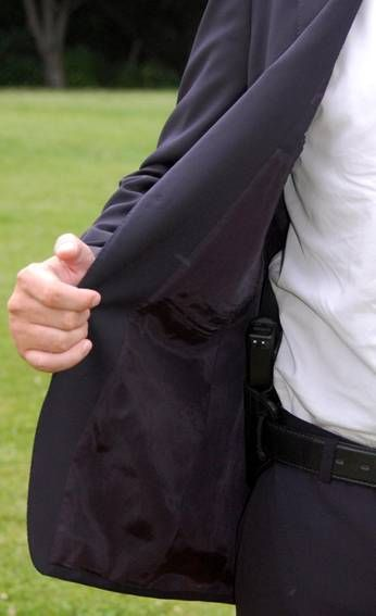 How To Carry A Concealed Weapon With A Men's Suit, Sport Jacket Or Blazer - A Concealed Carry Guide