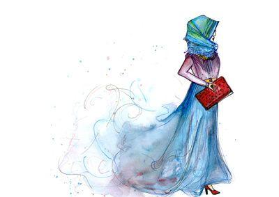 Hijabi Art Print