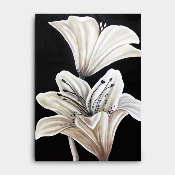 백합꽃 그림 (70X50CM)