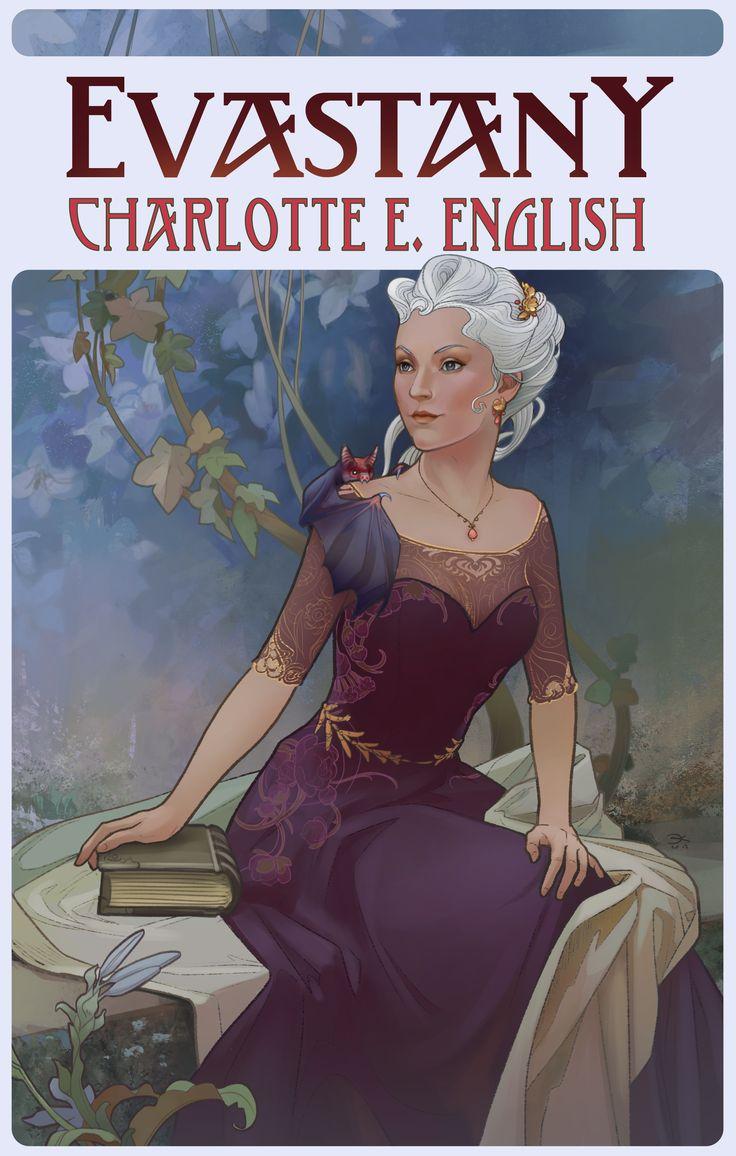 Elsa Kroese's rendering of Lady Evastany Glostrum, for book 5 of the Draykon Series. Also starring Rikbeek...