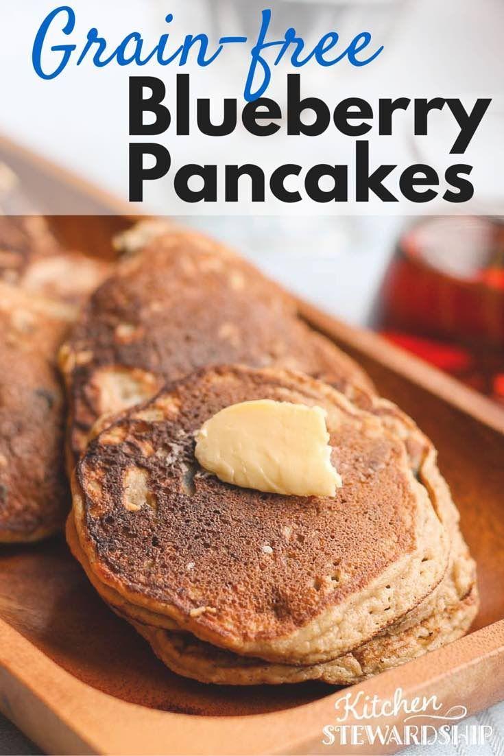 Grain-Free Paleo Blueberry Pancake | Recipe | Coconut ...