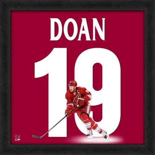 Shane Doan Framed Arizona Coyotes 20x20 Jersey Photo