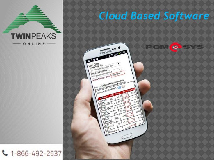 Cloud Based Software Bakery POS  TwinPeaks Online is a company that has been providing software solutionsto small businesses for almost 30 years. It is only fitting that we embrace the green movement and encourage you to do the same by way of our products and services - See more at: http://pomesys.com/mobstart/go-green-6-ways-our-cloud-based-software-can-help/#sthash.12ISyHPF.dpuf