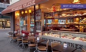 Groupon - Choice of Celebration Cake at Patisserie Valerie - order online and collect in-store (Up to 65% Off) in Multiple Locations. Groupon deal price: £15