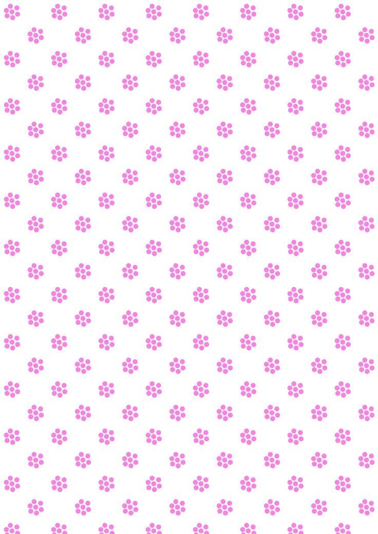FREE digital floral pattern paper