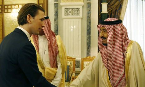 Austrian Foreign Minister Sebastian Kurz has openly criticized Saudi Arabia over its human rights record, saying that Austria considers the death penalty to be an inhuman punishment.