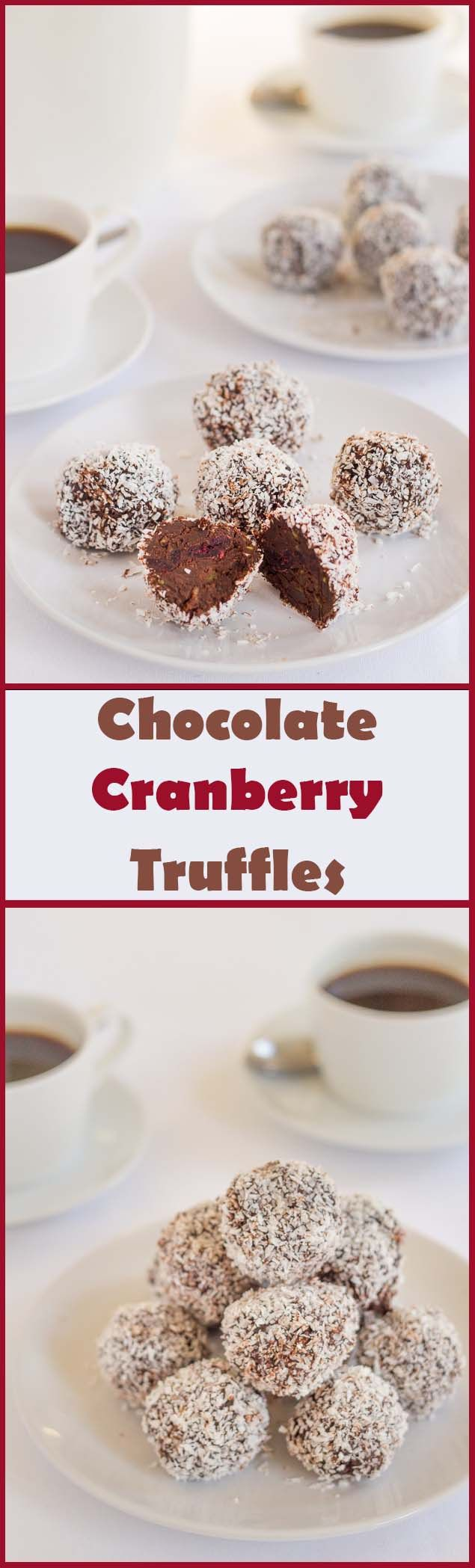 and simple to make, you'll love these chocolate cranberry truffles ...