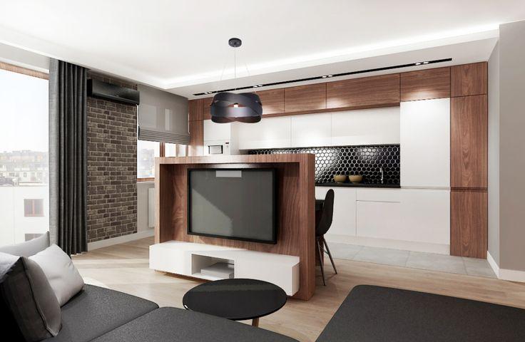 mieszkanie na wynajem 2   All-Design Projektowanie wnętrz Kraków, Projekty wnętrz, Architekt Agnieszka Lorenc