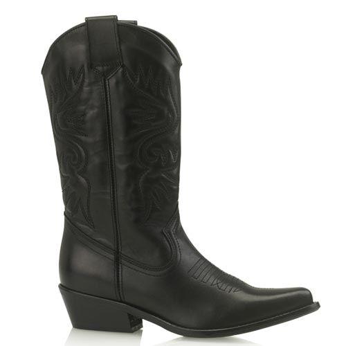 DWRS High Texas 20532 cowboylaarzen zwart
