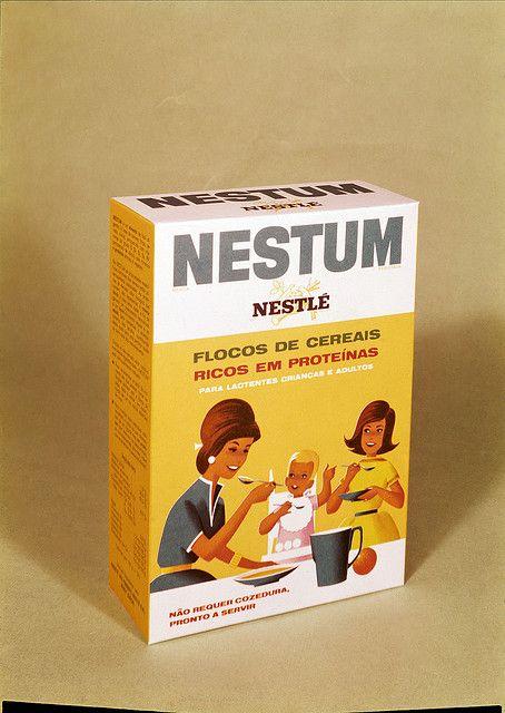 Flocos de cereais Nestum, Portugal by Biblioteca de Arte-Fundação Calouste Gulbenkian, via Flickr