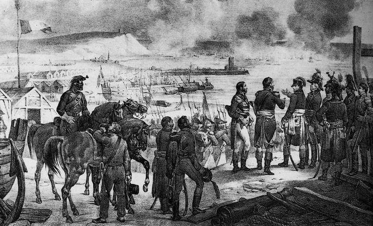 Napoleon au camp de boulogne