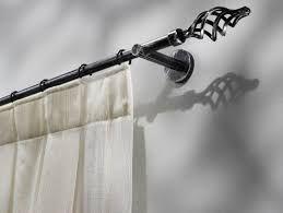 Varão para cortinas em ferro forjado