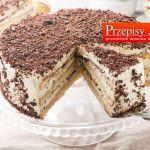 TORT TIRAMISU - cudowny tort na specjalne okazję z aromatem amaretto.