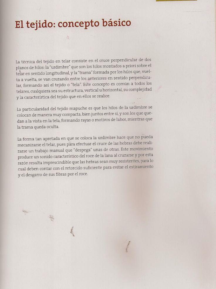 Taller de Ana María: TELAR  MAPUCHE