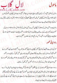004 Environment Essay In Urdu Mahol Ki Safai Mahol Ki Aloodgi