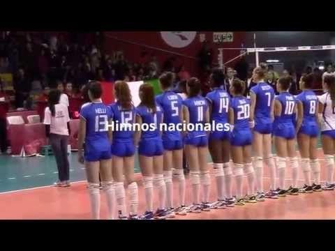 Estación Voleibol: PARTIDO FINAL DEL MUNDIAL DE VOLEIBOL FEMENINO SUB 18 PERÚ 2015