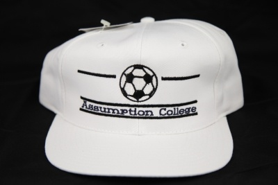 NCAA Hat Assumption College Soccer Ball Genuine Snap Back Hat made by The Game