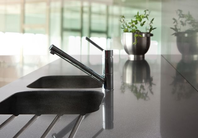 153 best images about silestone kitchen on pinterest for Integrated quartz sink