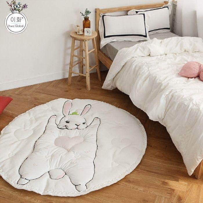 Ай Bangni кролик может подняться коврик для маленьких детей ребенка подушку хлопчатобумажной ткани куклы игрушки детям Кореи - Taobao