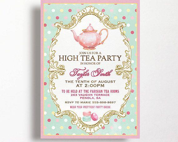17 best ideas about kitchen tea invitations on pinterest