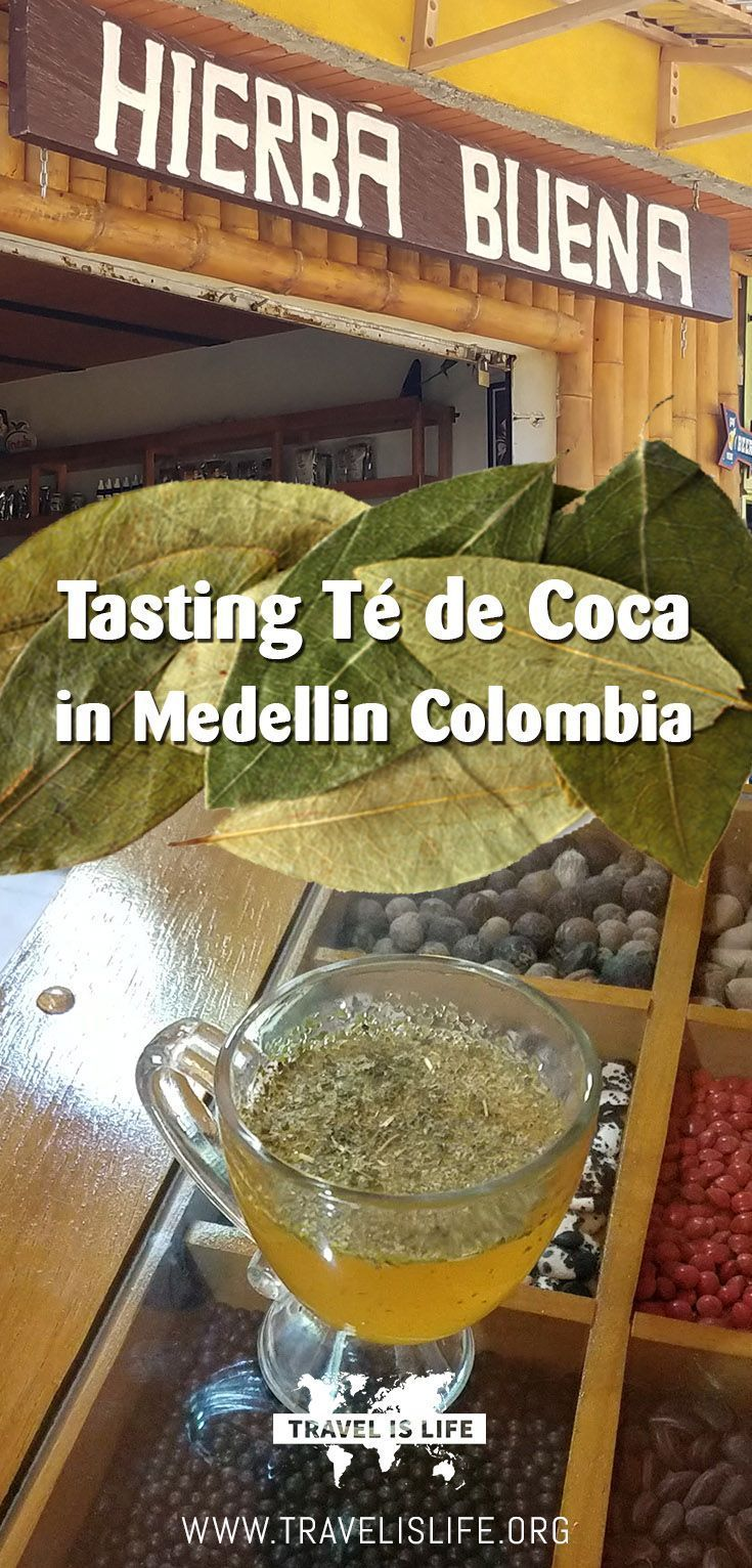 Join me as I try Colombia's famous té de coca, an herbal tea made from the raw dried leaves of South America's coca plant - the same plant that is used to manufacture cocaine! Brought to you by TravelisLife.org. #southamerica #colombia #medellin #cocatea #tedecoca