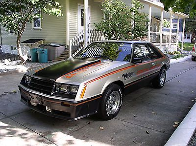 1979 Mustang Indy Pace Car with Ford Motorsport 140 MPH speedo, louvers, more!