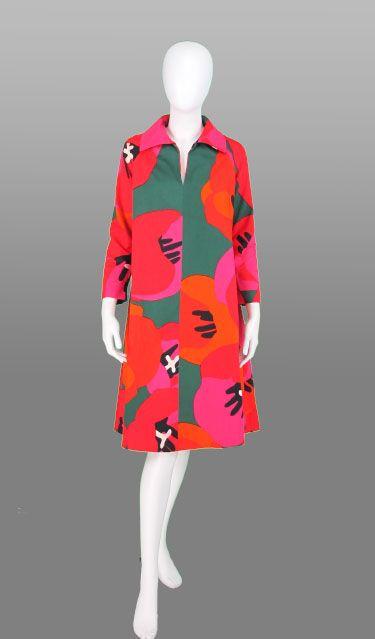 60s Mariatta Metsovaara dress Womens Haberdashers NY London