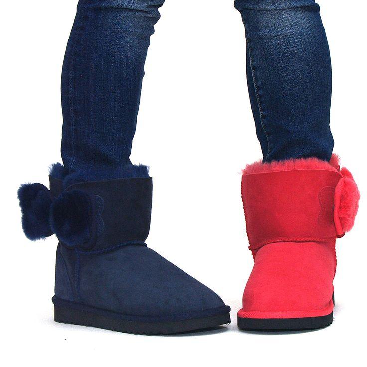 http://www.uggbootsmadeinaustralia.com.au/Shearling-Bow-Sheepskin-Ugg-Boots.aspx