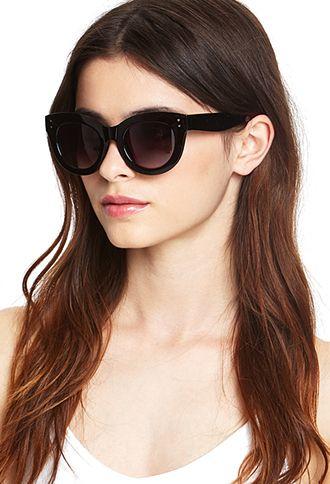 Retro Cat-Eye Sunglasses   FOREVER 21 - 1055879716