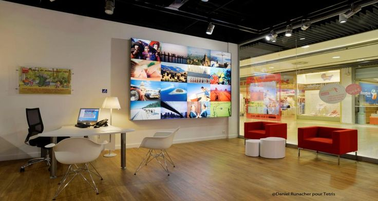 Nouvelles Frontières agency in Paris, France