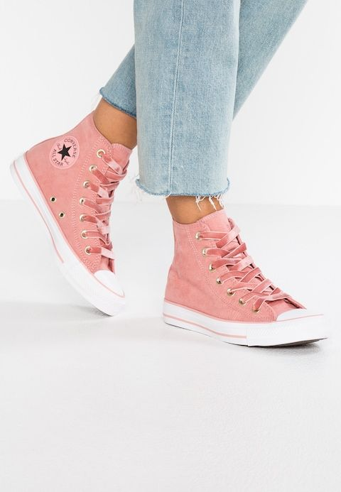 199e55db2f7 Converse CHUCK TAYLOR ALL STAR - Sneaker high - rust pink/black/white -  Zalando.de