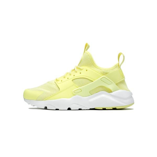 Lemon Chiffon/Summit White/Lemon Chiffon Ultramesh upper for lightweight breathability Foam sole with lightweight Air-Sole cushioning for comfort Durable rubber