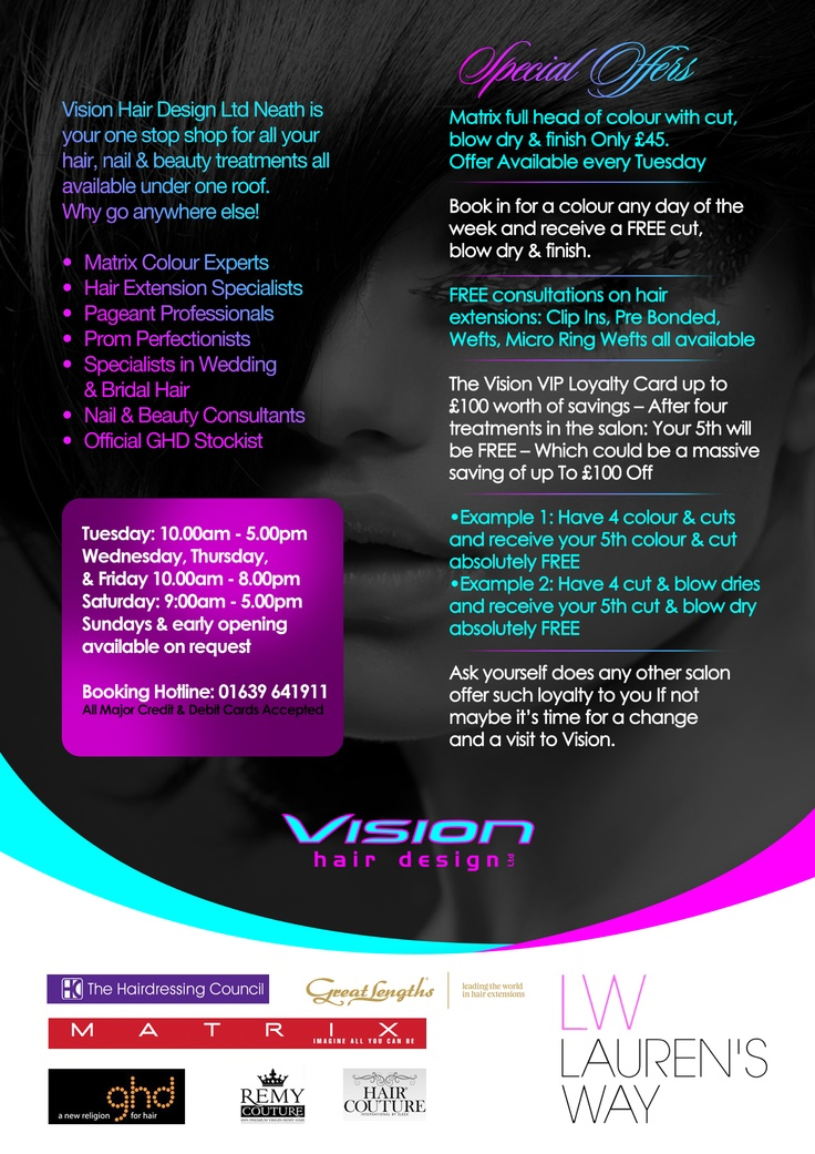 125 best flyer images on pinterest graph design infographic and vision hair design ltd flyer 2013 solutioingenieria Choice Image