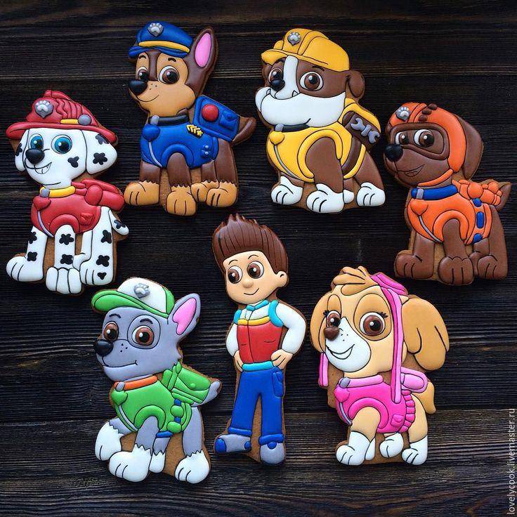 Купить или заказать Пряники с героями мультфильмов в интернет-магазине на…
