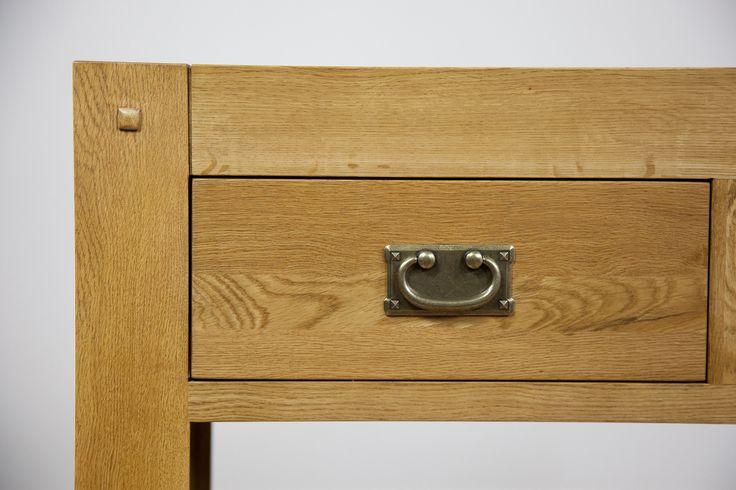 Quercus Solid Oak Furniture Range, Oak Furniture Land Drawer Handles