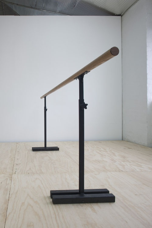 "Portable Ballet Barre...I lived a lot of my life at one of these....buying one for ""My"" room...I can workout at a barre without thinking about it"