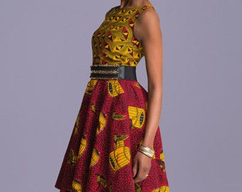 Dashiki custom dress  african clothing african by HouseOfIzzi