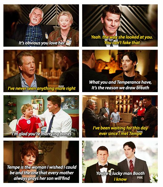 bones and booth relationship