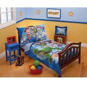 Toy Story 4 Pc Toddler Bedding Set ( Toys to the Rescue) @ niftywarehouse.com #NiftyWarehouse #Toy #Story #Movie #ToyStory #Pixar