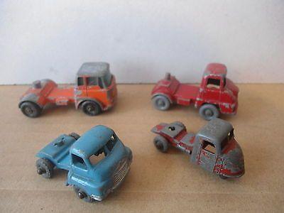 4 Matchbox Lesney Regualr Wheels Tractor Units - Thames Trader/Bedfords/Scarab - http://www.matchbox-lesney.com/28708