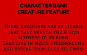 creature feature   PROMPTUARIUM